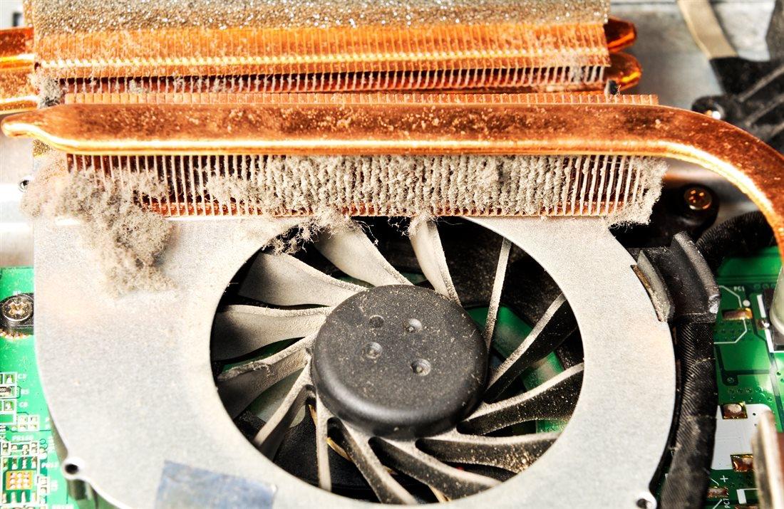 Slow overheating laptop repair service